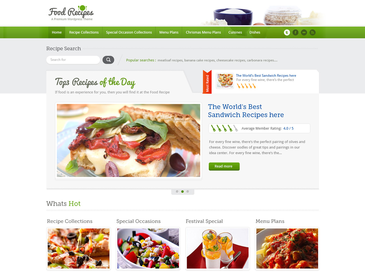 inspirythemes food recipes