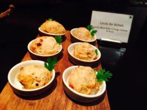 litchi kebabs